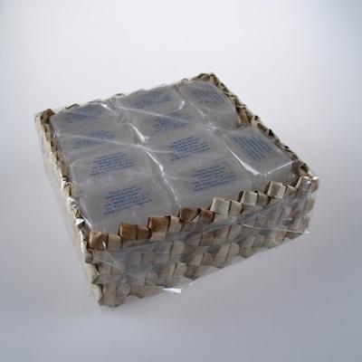 Купить Кристалл-слиток супер-мини брусок с глицерином в коробке из пальмы пандан 20 шт tawas crystal