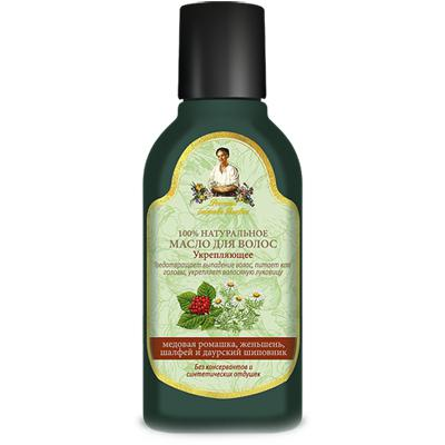 Купить Масло для волос укрепляющее рецепты бабушки агафьи