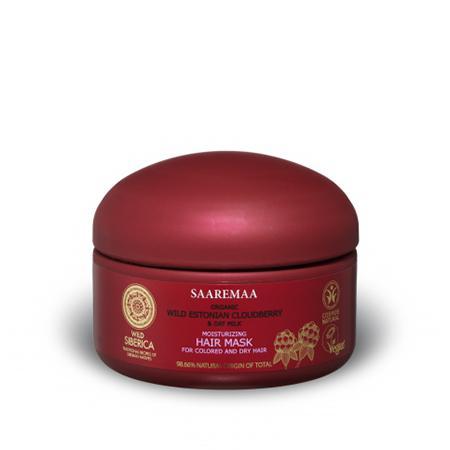 Купить Увлажняющая маска для волос для сухих и окрашенных волос saaremaa natura siberica