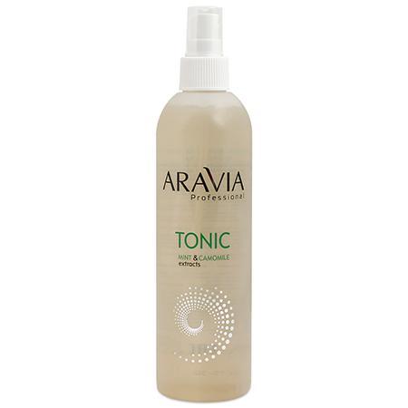 Купить Тоник для очищения и увлажнения кожи aravia professional