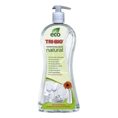 Купить Натуральная эко-жидкость для мытья посуды tri-bio