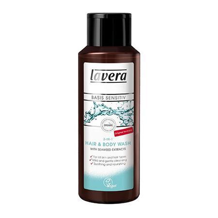 Купить Биогель 2 в 1 для мытья волос и тела lavera