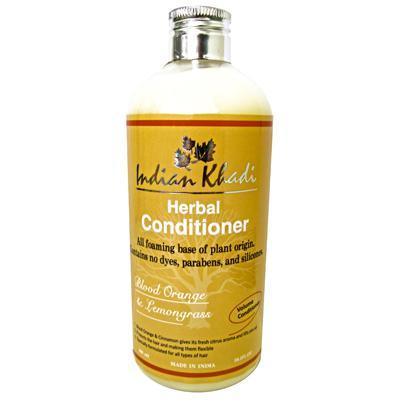 Купить Кондиционер для волос с красным апельсином и лимонником indian khadi