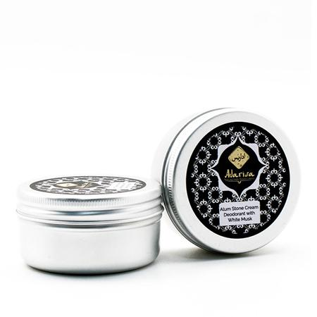 Купить Алунитовый крем-дезодорант с белым мускусом adarisa