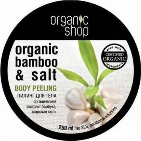 Купить Пилинг для тела «тропический бамбук» organic shop