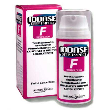 Купить Сыворотка для удаления жировых отложений в проблемных местах (для женщин) «iodase deep impact f»