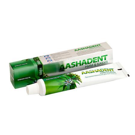 Купить Зубная паста «aasha dent ним&бабул»