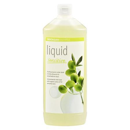Купить Жидкое мыло для чуствительной кожи 1000 мл sodasan
