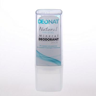 Купить Минеральный дезодорант кристалл чистый travel stick 40 гр deonat