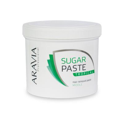 Купить Сахарная паста для депиляции тропическая средней консистенции aravia professional