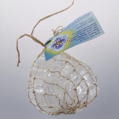 Купить Кристалл 3 натуральных камня разной формы в сетке из пальмы абака tawas crystal
