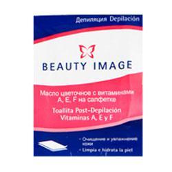 Купить Салфетка с цветочным маслом (после депиляции) beauty image