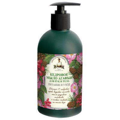 Купить Жидкое мыло для рук и тела кедровое рецепты бабушки агафьи