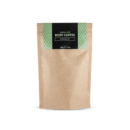 Купить Скраб кофейный мятный 150 г huilargan