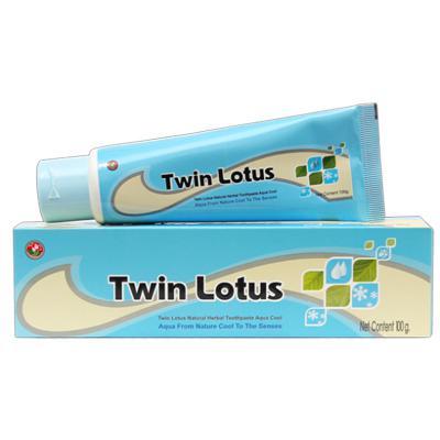 Купить Зубная паста aqua cool морская свежесть 40 гр twin lotus