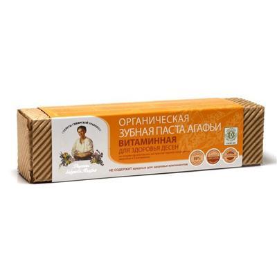 Купить Органическая зубная паста для здоровья десен витаминная рецепты бабушки агафьи