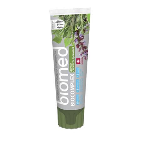 Купить Зубная паста biocomplex долгая свежесть biomed