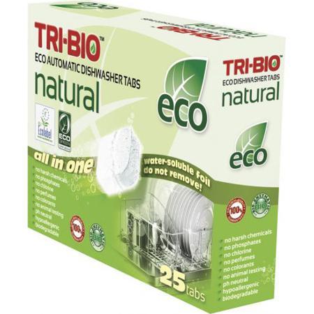 Купить Натуральные эко таблетки для посудомоечных машин tri-bio