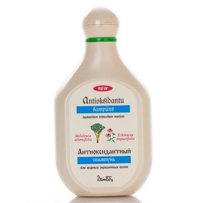 Купить Антиоксидантный шампунь для жирных окрашеных волос dzintars