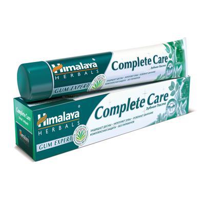 Купить Зубная паста complete care для комплексной защиты зубов и десен himalaya herbals