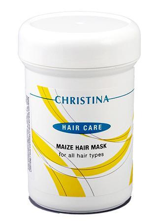 Купить Кукурузная маска для сухих и нормальных волос christina
