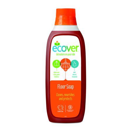 Купить Жидкий концентрат с льняным маслом (для мытья пола)  ecover