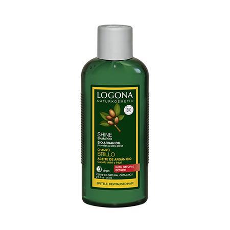 Купить Шампунь для восстановления блеска волос с био-аргановым маслом 75 мл logona