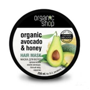 Купить Маска для волос «медовое авокадо» organic shop