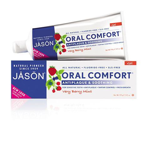 Купить Гелевая зубная паста oral comfort для чувствительных зубов jason