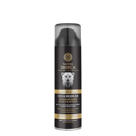 Купить Увлажняющий гель для бритья «сила медведя» men natura siberica
