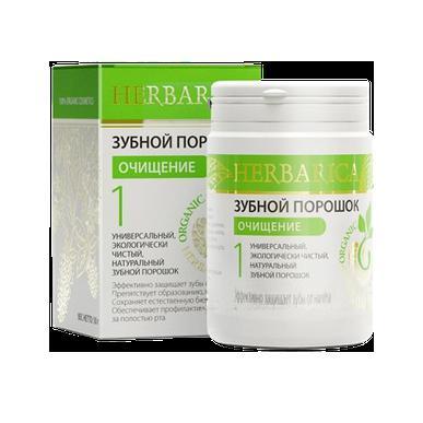Купить Зубной порошок № 1 «очищающий» herbarica биобьюти