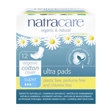Купить Натуральные женские прокладки ultra pads super natracare