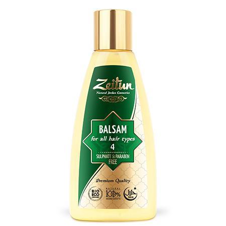Купить Натуральный бальзам для всех типов волос зейтун №4