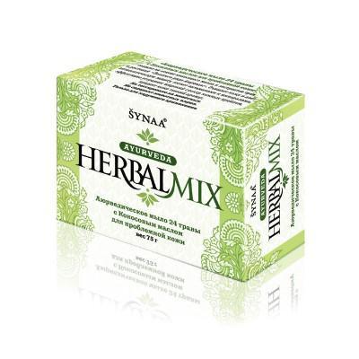 Купить Аюрведическое мыло 24 травы с кокосовым маслом synaa ааша