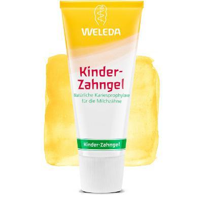 Купить Детская зубная паста-гель weleda