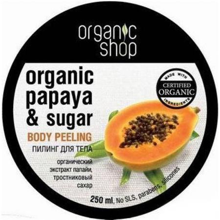 Купить Пилинг для тела «сочная папайя» organic shop
