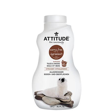 Купить Экологическое средство для мытья пола attitude