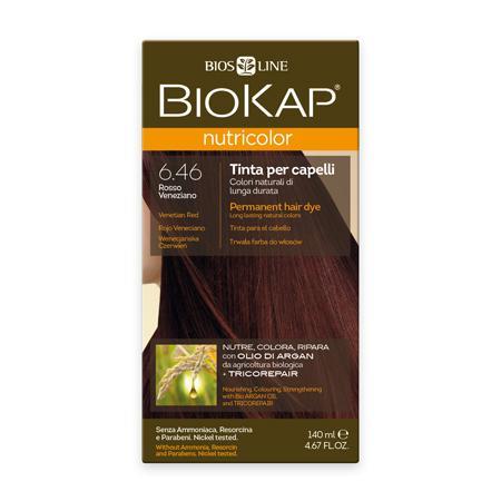 Купить Стойкая натуральная крем-краска для волос biokap nutricolor (цвет венецианский красный) biosline