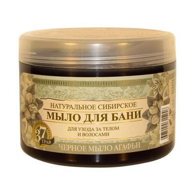 Купить Черное мыло агафьи натуральное сибирское мыло для бани рецепты бабушки агафьи