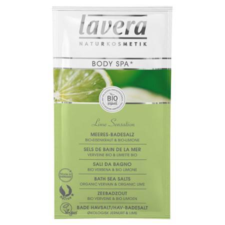 Купить Морская био-соль для ванн «сенсация лайма» lavera