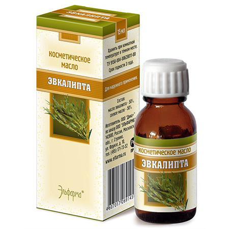 Купить Масло эвкалипта (профилактика и лечение кожных заболеваний) эльфарма