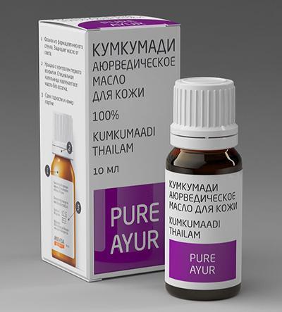 Купить Аюрведическое масло кумкумади