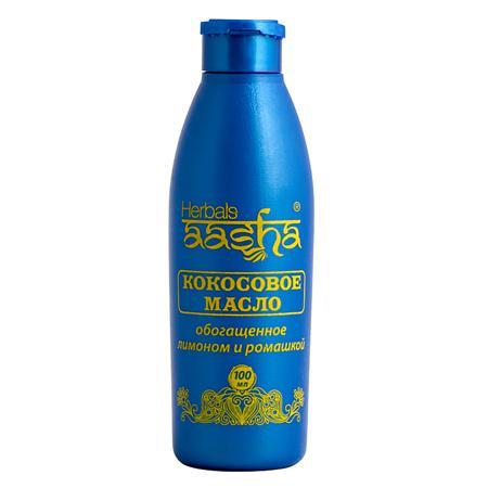 Купить Кокосовое масло с лимоном и ромашкой  aasha herbals
