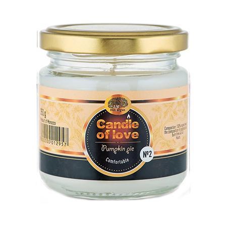 Купить Арома свеча эко №2 (тыквенный пирог) huilargan