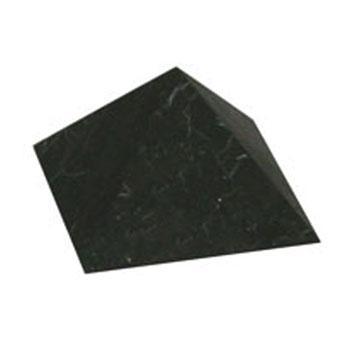 Купить Пирамида неполированная 10 см шунгит