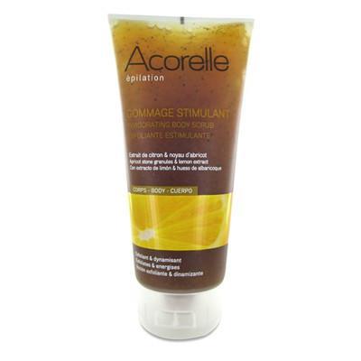 Купить Тонизирующий скраб для тела лимон и абрикос acorelle