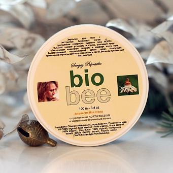 Купить Эмульсия для тела с экстрактом березовых почек bio bee лаборатория поправко