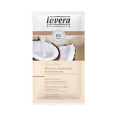 Купить Морская био-соль для ванн «кокосовая мечта» lavera