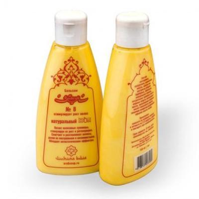 Купить Натуральный бальзам стимулирующий рост волос №8 зейтун