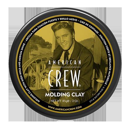 Купить Формирующая глина сильной фиксации со средним уровнем блеска для укладки волос king classic molding clay 85 г american crew